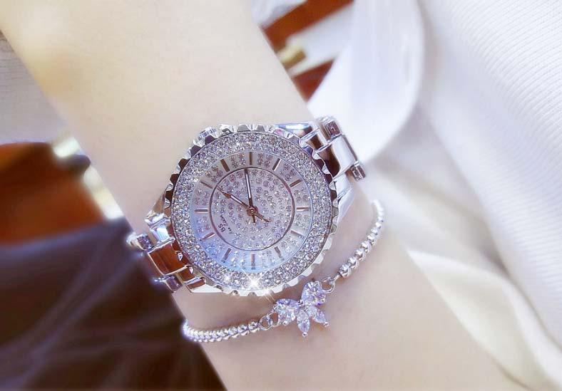 Đồng hồ nữ Bee Sister FA0280B đính đá thời trang cao cấp