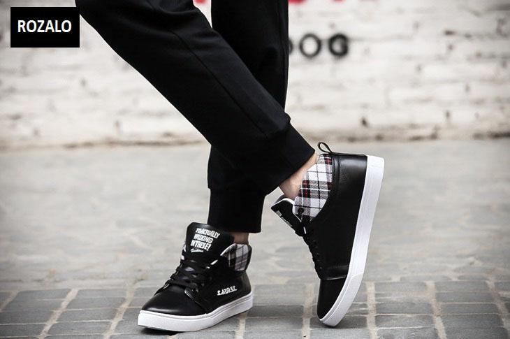 Giày cổ cao thời trang nam Rozalo RM5822B-Đen4.jpg