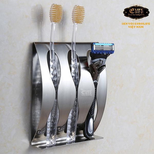 Kệ để bàn chải đánh răng, dao cạo râu Inox 304 Eurolife EL-TR1-11  .jpg