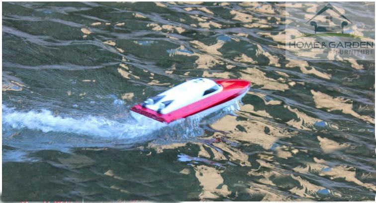 Mô hình ca nô điều khiển từ xa Racing Boat 2.4Ghz Model 802 ... MỚI !! - 4