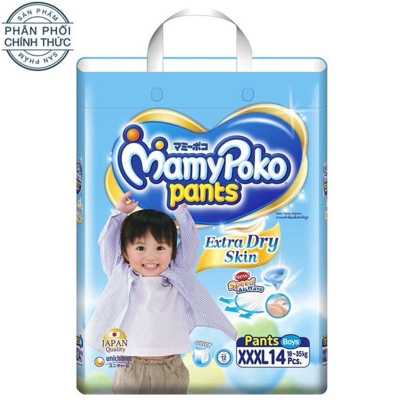 Tã quần Mamy Poko XXXL14 (Boy)