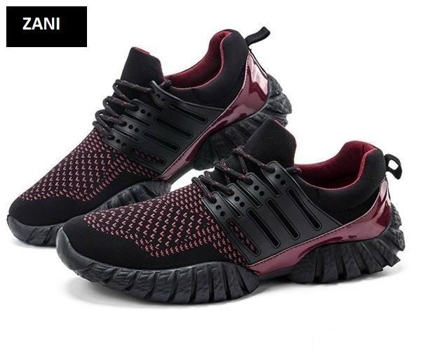 Giày thể thao nam ZANI ZN33913RB-Đỏ Đen