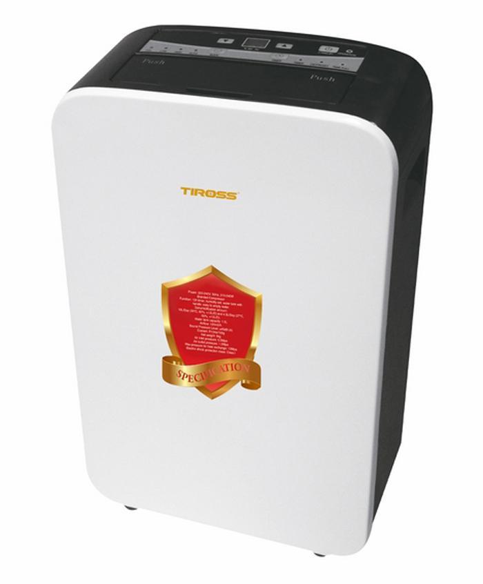 Máy Hút Ẩm Tiross TS886 240W (Trắng)