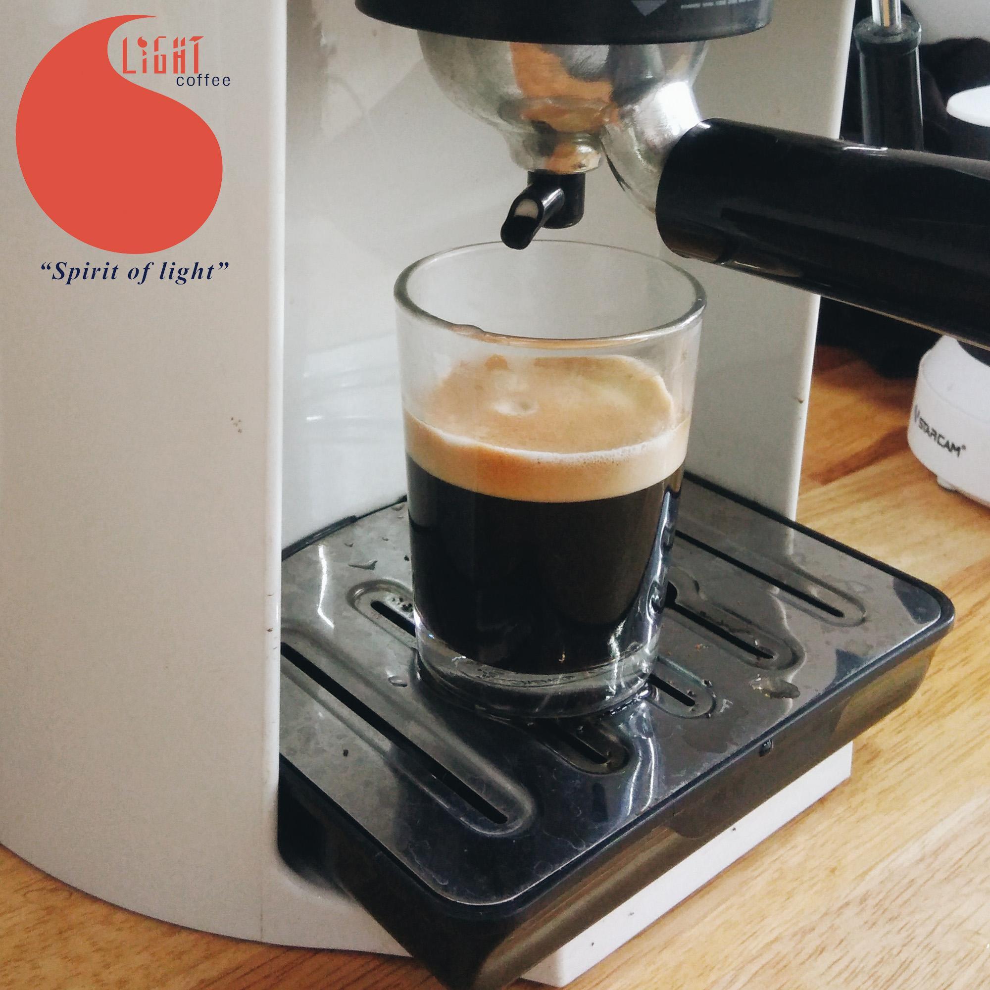 cà phê nguyên chất Light Coffee cafe