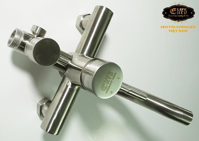 Bộ sen tắm đứng nóng lạnh Inox SUS 304 Eurolife EL-S918 (Trắng vàng)-6.jpg