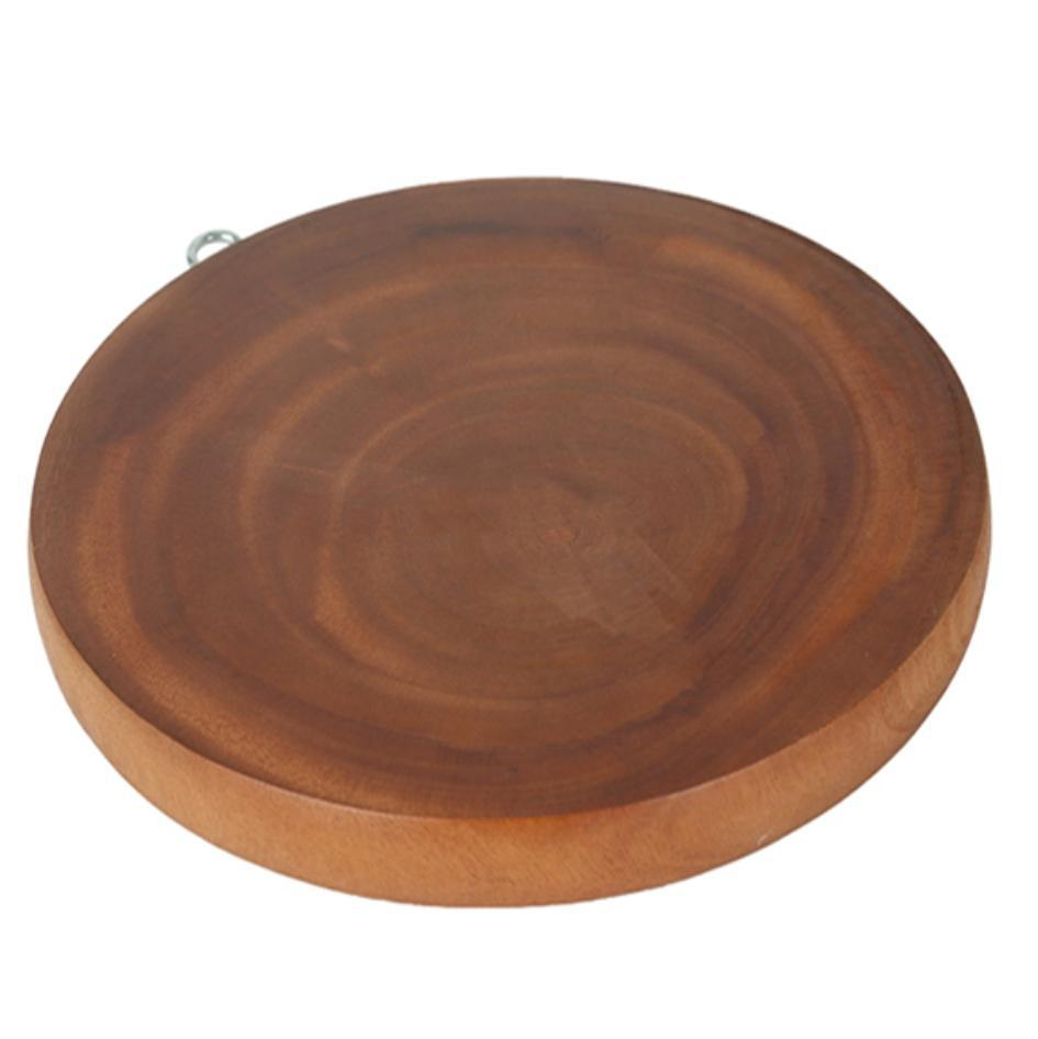 thớt gỗ me Thớt gỗ Me Sừn dày dặn (tròn): Buy sell online Preparation  thớt gỗ me