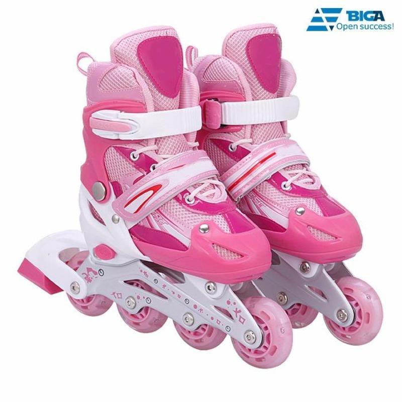 Phân phối Giày Trượt Patin QF Hồng Size L (39) US05507 - 13
