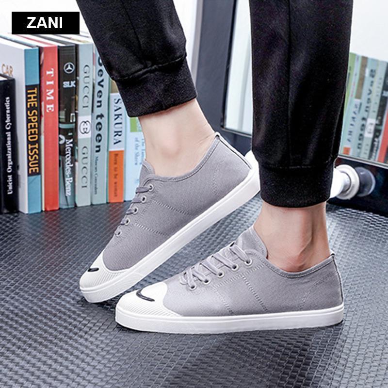 Giày vải  nam mũi bọc cao su dẻo vải chống mài mòn Rozalo RM56658 2.png