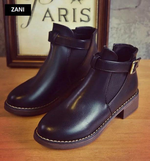 Giày chelsea boots nữ có đai Rozalo RW3758B-Đen.jpg