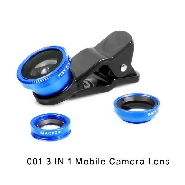 Bộ lens chụp hình 3 trong 1 cho điện thoại