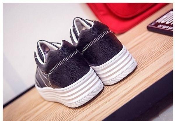 Giày thời trang nữ buộc dây ZANI ZW31102B-Đen