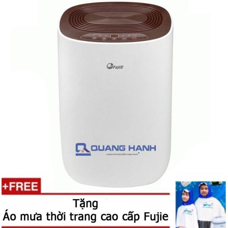 Bảng giá Máy hút ẩm dân dụng FujiE HM-912EC-N 12 lít/ngày (Trắng) - Hãng phân phối + Tặng áo mưa cao cấp