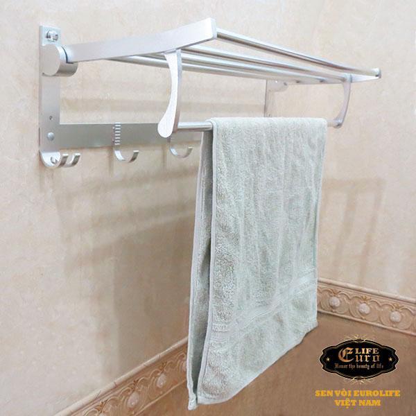 Kệ treo khăn tắm nhôm đa chức năng Eurolife EL-B9-.jpg