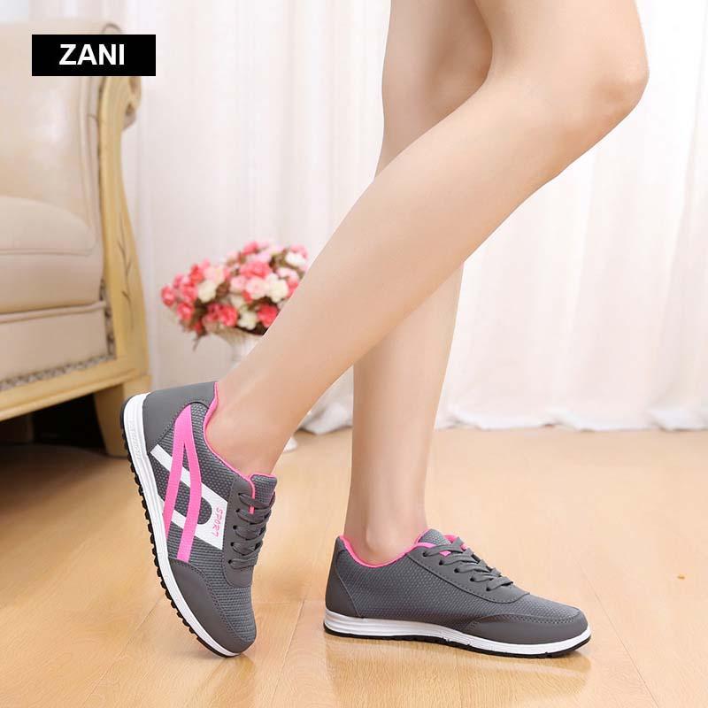 Giày thể thao nữ mũi lưới thời trang ZANI ZN48802