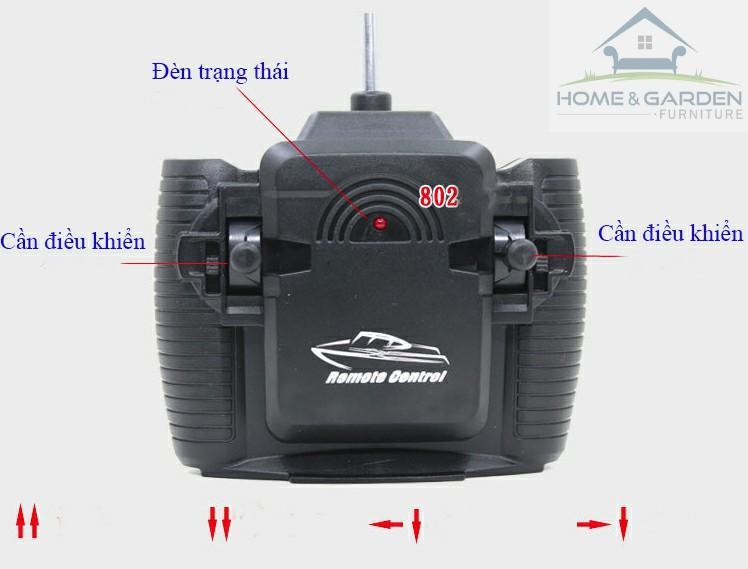 Mô hình ca nô điều khiển từ xa Racing Boat 2.4Ghz Model 802 ... MỚI !! - 2