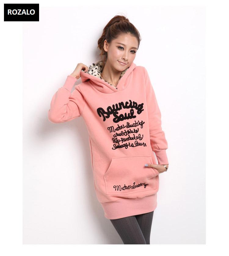 Áo khoác nữ hoodie thời trang Rozalo RW2961P-Hồng5.jpg