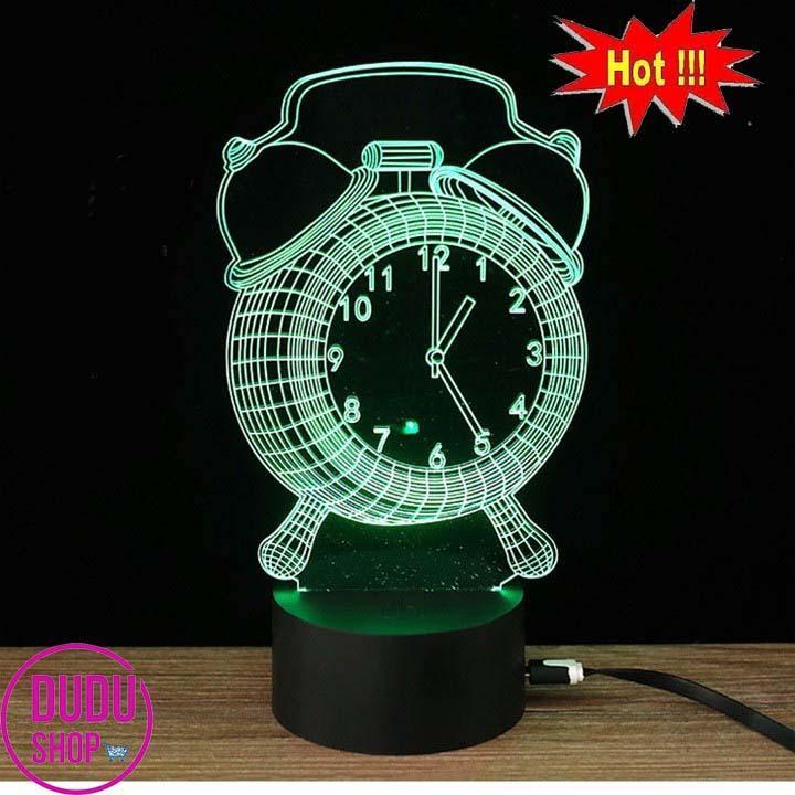 đèn led hinh đồng hồ