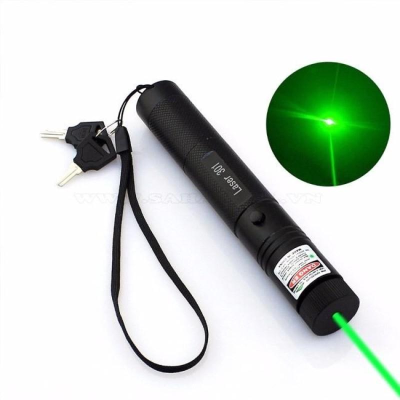 Bảng giá Đèn Laze Laser 303 tia xanh lá chiếu cực xa + đầu chiếu ngàn sao