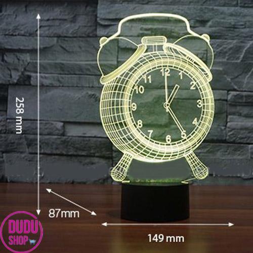 đèn ngủ hình đồng hồ