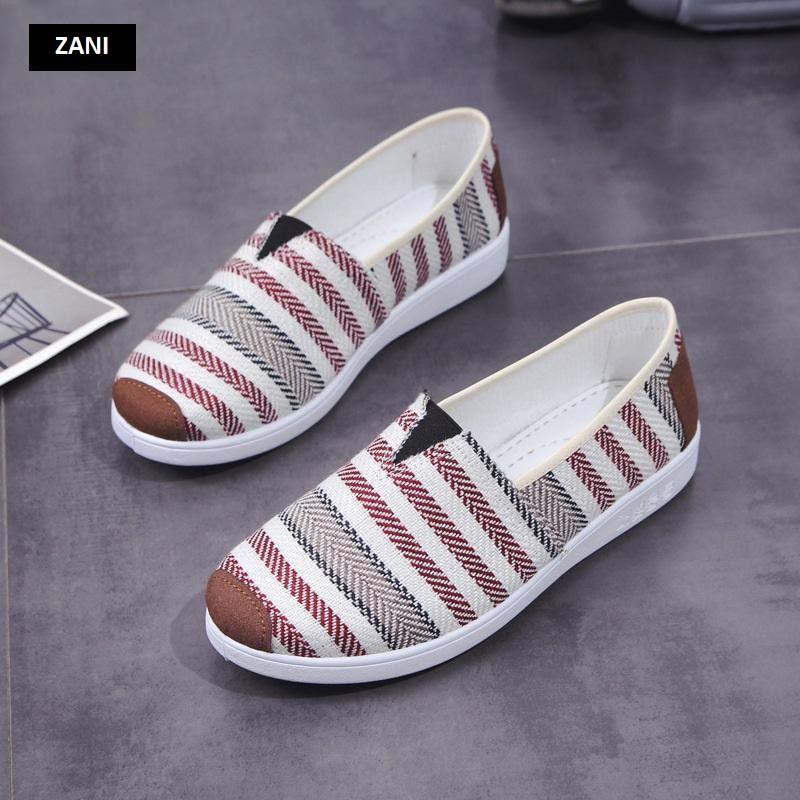 Giày lười vải nữ thoáng khí Zani ZW2231 6.jpg