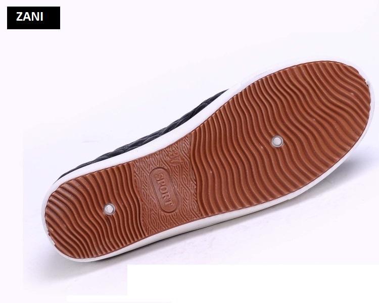 Giày lười slip on nữ ZANI ZN25130B-Đen