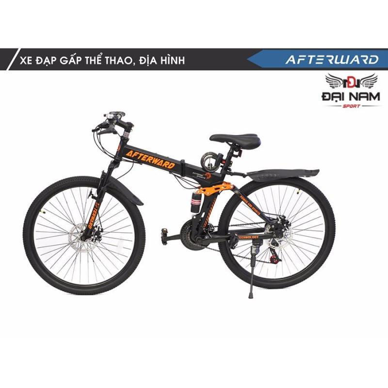 Phân phối Xe đạp thể thao địa hình gấp gọn  After Ward + (Tặng khoá và bơm)
