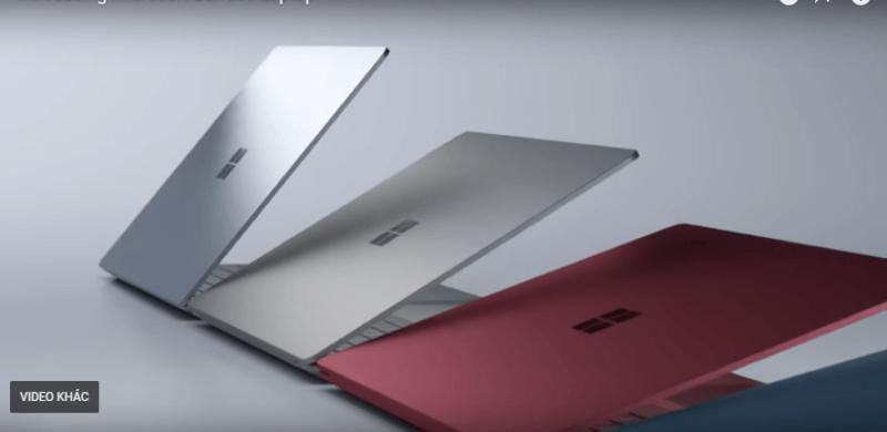 Surface laptop Core i7