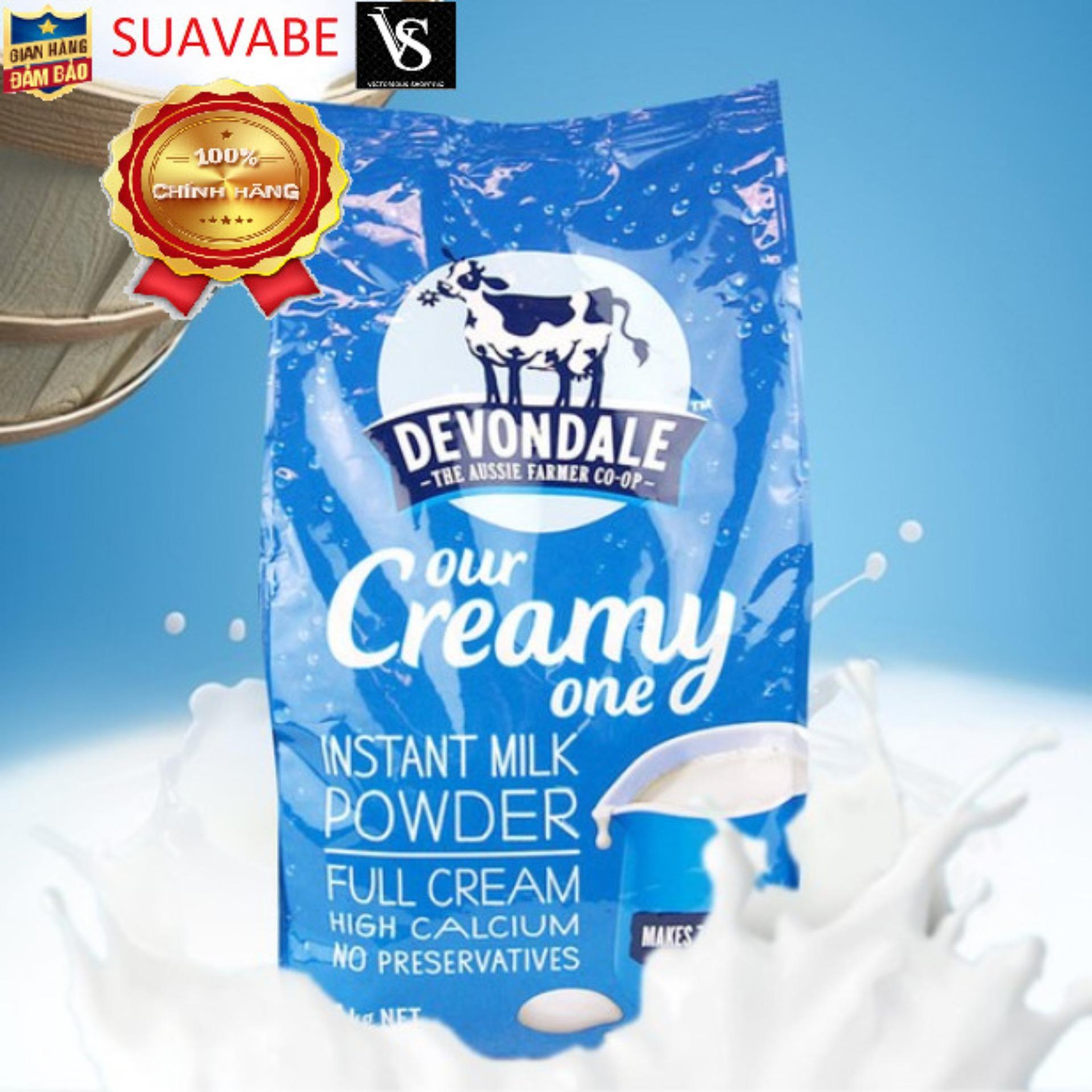 Sữa nguyên kem dạng bột Devondale 1kg