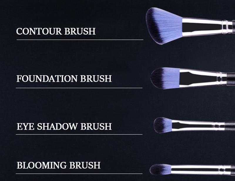 Bộ cọ trang điểm MSQ màu hồng 12 cây MSQ New Arrival 12Pcs Make up Brush (pink) 6