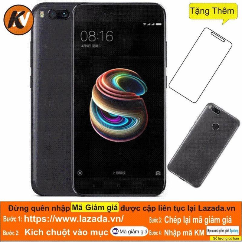 Xiaomi Mi 5X - 64GB Ram 4GB (Black) Kim Nhung - Hàng Nhập Khẩu + Ốp lưng + Cường lực