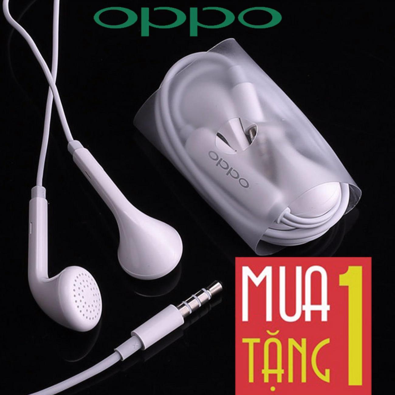 Tai nghe Oppo F3/F3 Plus F1s/F1 Plus R9/R9 Plus + Tặng 1 Tai nghe Tai nghe Oppo F3/F3 - Zin Tuyệt Đối