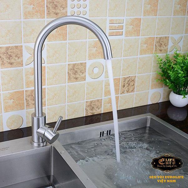 Vòi rửa chén nóng lạnh Inox SUS 304 Eurolife EL-T003-55.jpg