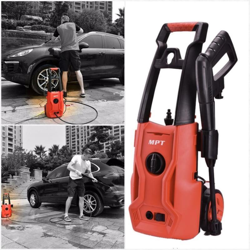 May phun nuoc rua xe gia dinh -Máyphunxịt rửa cao áp MPTrửa xe, sân vườn, đồ dùng sạch nhất -Bảo hành 6 tháng