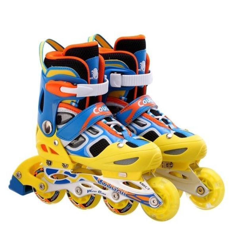 Phân phối Giày Patin Cougar PCG 8 phát sáng 1 bánh - Giày Patin đẳng cấp và mạnh mẽ