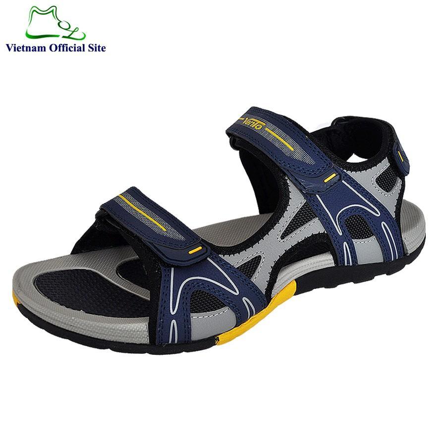 Giày sandal nam 2 quai ngang hiệu Vento NV4542Ch