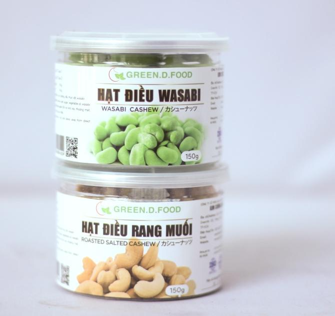 hạt điều Green D Food