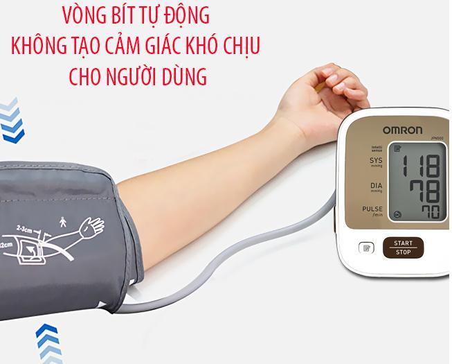 Máy đo huyết áp Omron JPN-500 (HEM-7123 AP3)