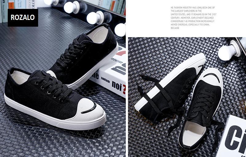 Giày vải  nam mũi bọc cao su dẻo vải chống mài mòn Rozalo RM56658 19.png