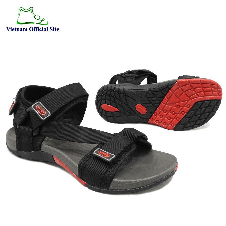 Giày sandal quai ngang dây chéo kiểu nam hiệu Vento NV4538BB