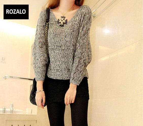 Áo len nữ kiểu mỏng dài tay Rozalo RW25803R-Đỏ3.jpg