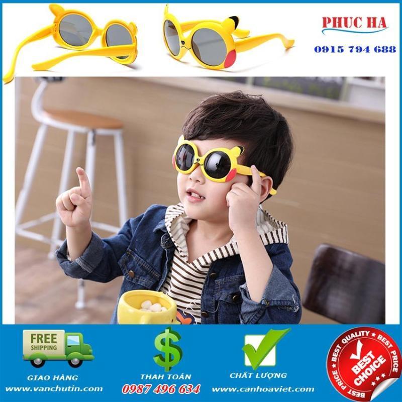 Mua Mắt kính trẻ em chống UV dẻo dai chống vỡ thời trang Vàng