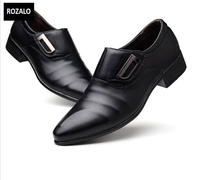 Giày tây nam công sở kiểu xỏ Rozalo RM62001B-Đen11.png