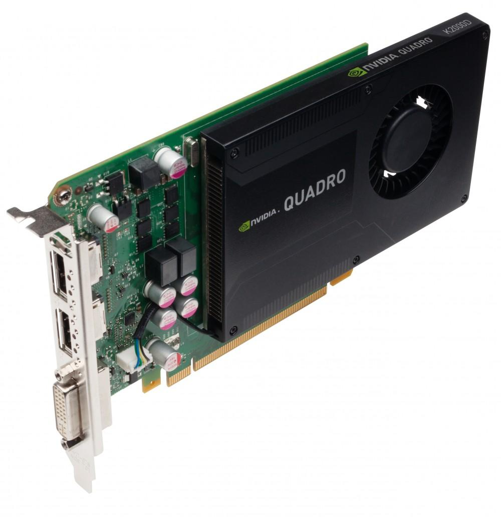Card đồ họa Nvidia Quadro K2000: