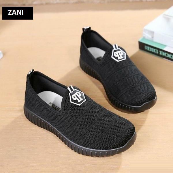 Giày Sneaker thể thao nữ ZANI ZN6601B-Đen
