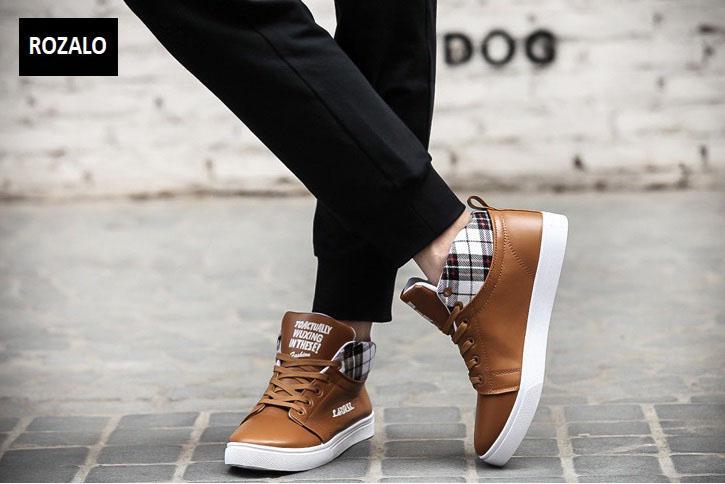 Giày cổ cao thời trang nam Rozalo RM5822N-Nâu8.jpg
