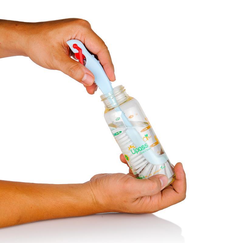 Bộ cọ rửa bình sữa, núm ty gấp gọn Upass UP7006 2.jpg