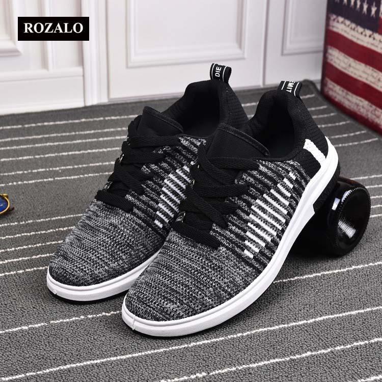 Giày thể thao thời trang khử mùi siêu thoáng vải dệt Rozalo RM62612  6.jpg