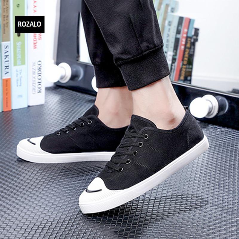 Giày vải  nam mũi bọc cao su dẻo vải chống mài mòn Rozalo RM56658 4.png