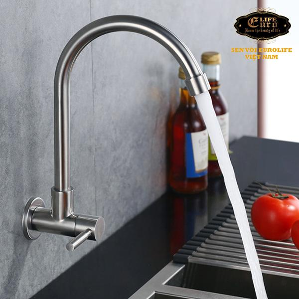 Vòi rửa chén lạnh âm tường Inox SUS 304 Eurolife EL-T024-5.jpg