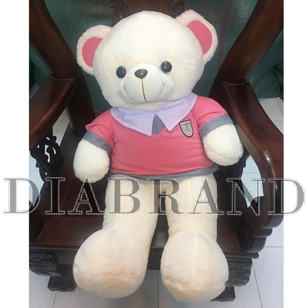 Gấu bông Teddy màu kem